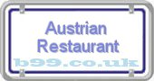 austrian-restaurant.b99.co.uk